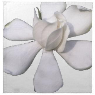 De witte Knop 201711g van Gardenia Katoenen Servet