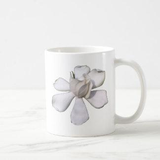 De witte Knop 201711g van Gardenia Koffiemok