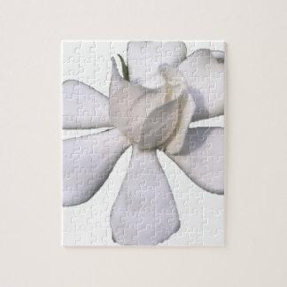 De witte Knop 201711g van Gardenia Puzzel