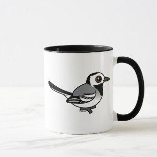 De Witte Kwikstaart van Birdorable Mok