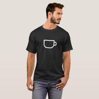 De witte Mok van de Koffie T Shirt