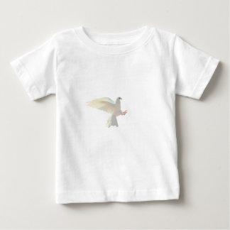 De witte mooie duif van de Heilige Geest Baby T Shirts