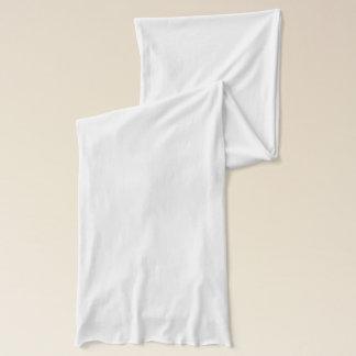 De witte Sjaal van Jersey Sjaal