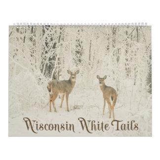 De Witte Staarten van Wisconsin Kalender