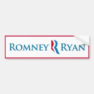 (De Witte) Sticker van de Bumper van Ryan van Romn