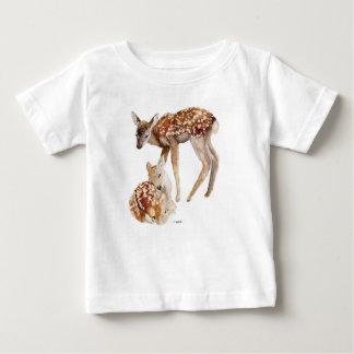 De witte t-shirt van Babys