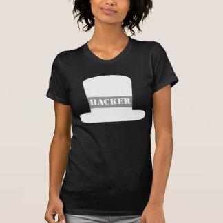 De witte T-shirt van de Hakker van het Pet