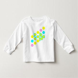 De witte T-shirt van het Sleeve van de Peuter