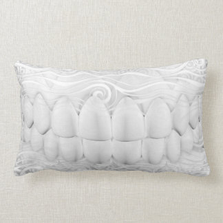De witte Tanden glimlachen het TandHoofdkussen van Lumbar Kussen