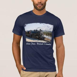 De witte Trein van de Pas in het Overhemd van het T Shirt
