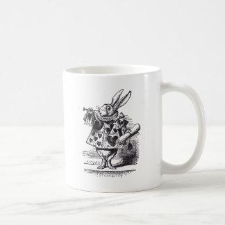 De witte Trompet van het Konijn Koffiemok