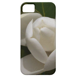 de witte zuidelijke knop van de magnoliabloem barely there iPhone 5 hoesje