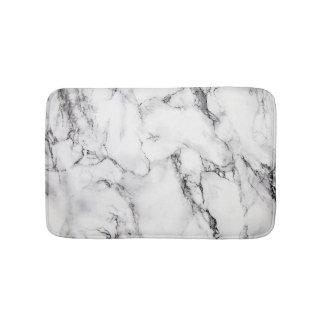 De witte Zwarte en Grijze Marmeren Steen van de Badmat