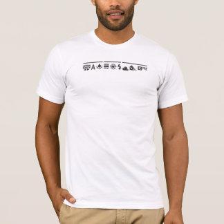 De witte zwarte van het Saldo T Shirt
