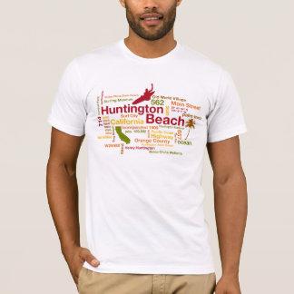 De Wolk van het Strand van Huntington T Shirt