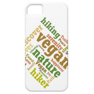 De Wolk van Word van de Wandeling van de Wandelaar Barely There iPhone 5 Hoesje
