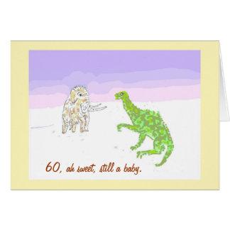 De wollige Kaart van de Mammoet en van de Dinosaur