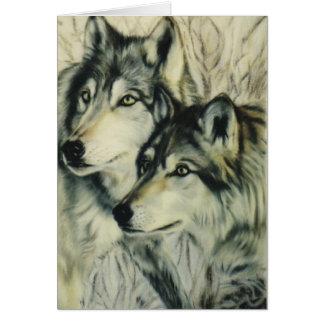 """De """"wolven van het hout """" briefkaarten 0"""