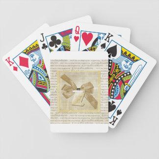 De Woorden van afstuderen, Grote Boog met Diploma, Poker Kaarten