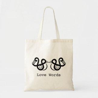De Woorden van de liefde Draagtas
