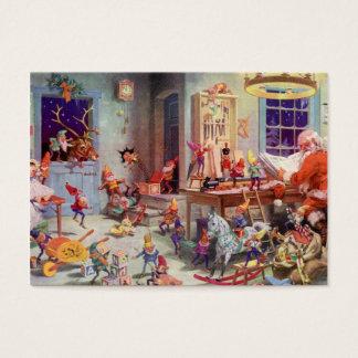 De Workshop van Santas Visitekaartjes