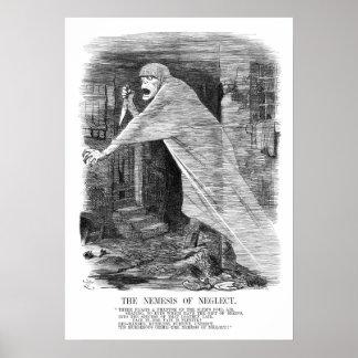 De wraakgodin van Verwaarlozing - Jack the Ripper Poster