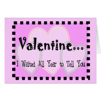 De wrede Kaart van Valentijn--Zeer grappig en