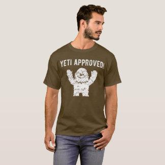 De yeti keurde Grappige T-shirt Bigfoot goed