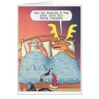 De Zaak van de kerstman Briefkaarten 0