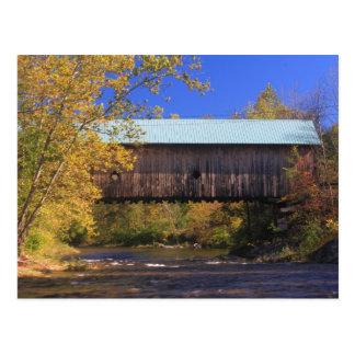 De zaal Behandelde Rivier Vermont van Saxtons van Briefkaart