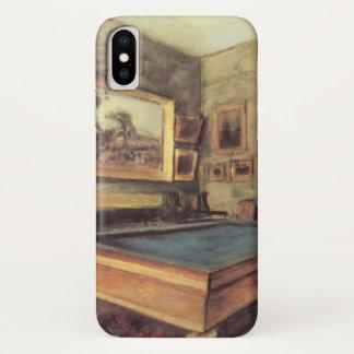 De Zaal van het Biljart in Menil Hubert door Edgar iPhone X Hoesje