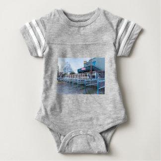 De Zaal van het waterrad Baby Bodysuit