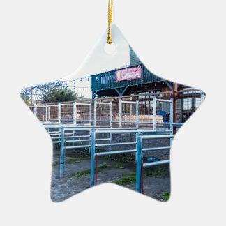 De Zaal van het waterrad Keramisch Ster Ornament