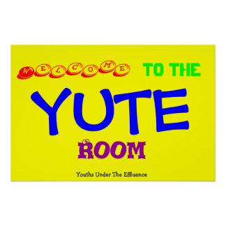 De Zaal van Yute Poster