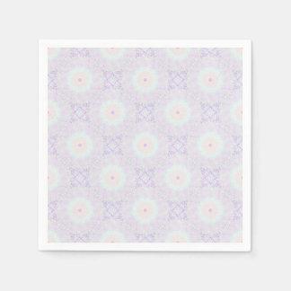 De zachte Pastelkleur Mandala van de Liefde Papieren Servetten