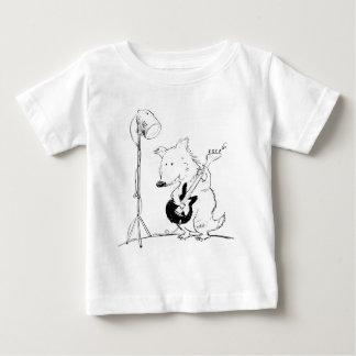 De zachte Vos van de Gitaar van het babyoverhemd Baby T Shirts