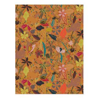 De zaden gouden zon van de bloem briefkaart