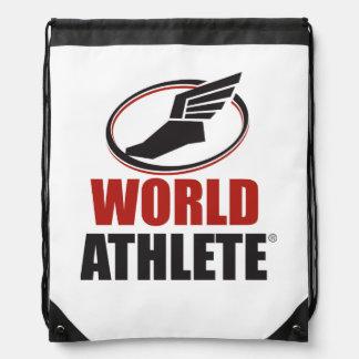 De Zak van Athlete® Drawstring van de wereld Trekkoord Rugzakje