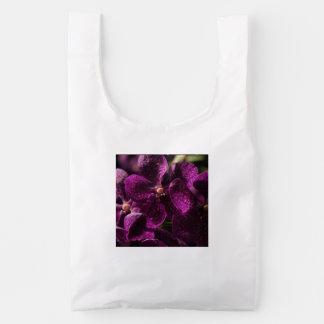 De Zak van Baggu van Orchideeën Herbruikbare Tas