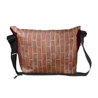 De zak van de baksteen courier bag