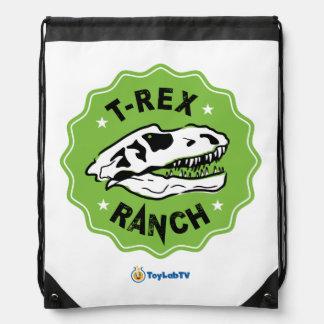 De Zak van de Boerderij t-Rex - Drawstring met Trekkoord Rugzakje