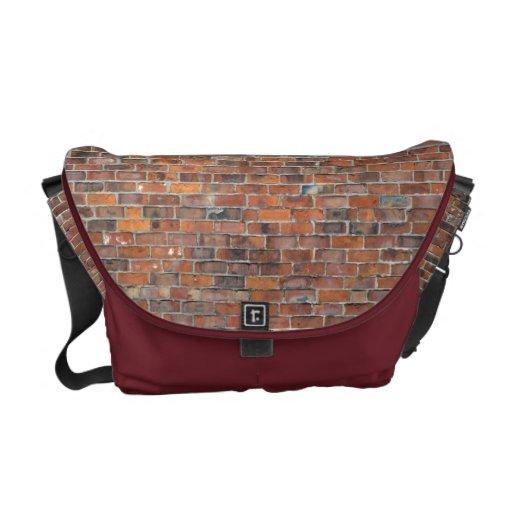 De Zak van de Boodschapper van de Bakstenen muur Messenger Bags