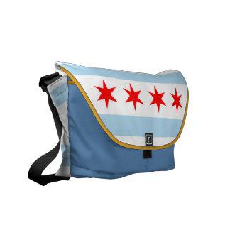 De Zak van de Boodschapper van de Vlag van Chicago Courier Bags