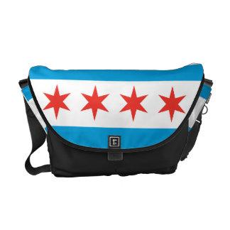 De Zak van de Boodschapper van de Vlag van Chicago Messenger Bags