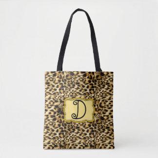 De Zak van de Druk van de luipaard Draagtas