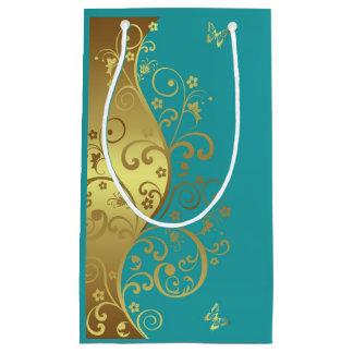 De Zak van de gift--Gouden Wervelingen & Klein Cadeauzakje