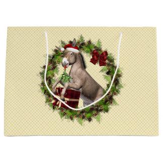De Zak van de Gift van de Vakantie van de Kerstman Groot Cadeauzakje