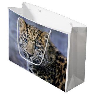 De Zak van de Gift van de Welp van de luipaard Groot Cadeauzakje