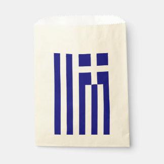 De zak van de gunst met vlag van Griekenland Bedankzakje