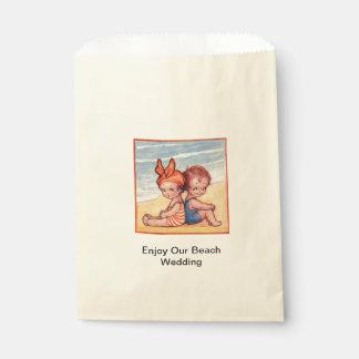 De Zak van de Gunst van het Snoep van het Huwelijk Bedankzakje